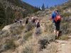 Day hike on the Roaring Creek Trail