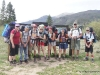 The group before heading in the wilderness
