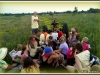 Environmental education on the hayrack ride