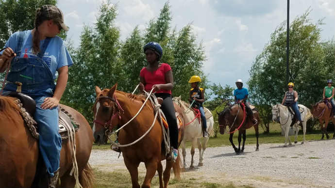 Camp Appanoose has the BEST Horse Camp!Camp Appanoose